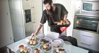 chef emplatando