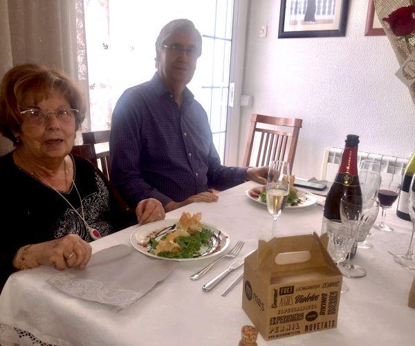 cena sorpresa padres
